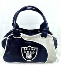 Oakland Raiders Perfect Bowler Womens Purse NFL FootballOfficial License Handbag