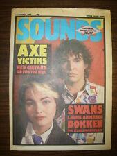 SOUNDS 1984 DEC 22 RED GUITARS TINA TURNER STRANGLERS