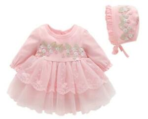 baby girls cute TUTU dress princess dress birthday wedding party outfits