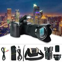 D7100 HD 33MP 3inch LCD 24X ZOOM LED Digital DSLR Camera Photo Camcorder F3