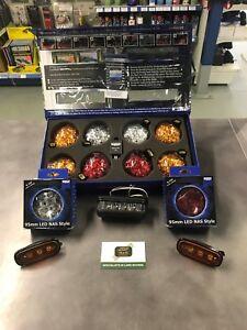 LAND ROVER DEFENDER LED WIPAC DELUXE COLOUR UPGRADE LAMP LIGHT KIT DA1292/DA8532