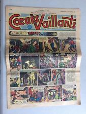 Coeurs Vaillants N°47 DIMANCHE 16 NOVEMBRE 1950 BE