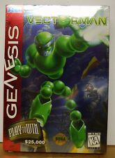 Vectorman. Sega Genesis. (1995)  Brand New. Factory Sealed. Clean.