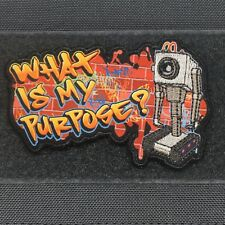 What is my Purpose? Rick and Morty Butter Robot Morale Patch