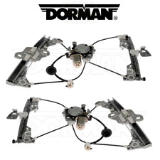 For Set of Front Left and Right Power Window Regulator w/ Motor for Nissan 350Z