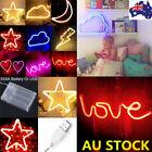 Neon Sign Light LED Wall Light Visual Artwork Bar Lamp Home Room Xmas Shop Decor