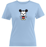 Juniors Girl Women Tee T-Shirt Gift Shirts Cartoon Mascot Mickey Mouse Kawaii