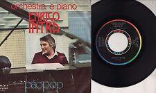 ENRICO INTRA  disco 45 giri STAMPA ITALIANA Paopop + Adagio 1975