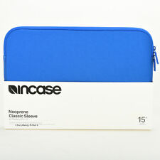 "Incase MacBook Pro 15"" Neoprene Classic Sleeve Soft Pouch Case CL60534 Blue NEW"