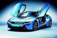 Blechschild 20 x 30 cm, BMW mit Flügeltüren,  Auto