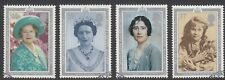GB Stamps 1990, Queen Mothers 90th Birthday, set of 4 Very Fine Used from FDC