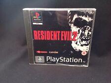 Resident Evil 2 PS1 (COMPLETE) Sony Playstation Capcom rare black label