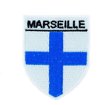 COAT OF ARMS MARSEILLE backpack FLAG PATCHES PATCH FRANCE GLUE shield souvenir -