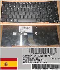 Clavier Qwerty Espagnol ACER Travelmate TM8100 8100 8100S ZF1 99.N7082.10S noir