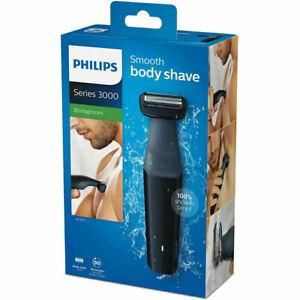 Philips Series 3000, Mens Cordless Showerproof Body Groomer Hair Trimmer Shaver