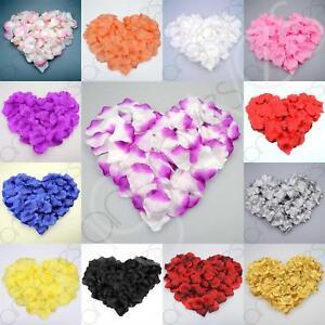 1000 Silk Rose Petal Flower Confetti Engagement Celebration Wedding Decoration