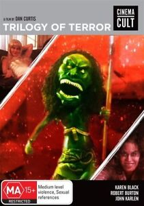 Trilogy Of Terror DVD NEW AND SEALED REGION 0 NTSC