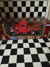 1934 Ford Pick Up Truck Road Legends Red 1:18 Scale Die-Cast Hot Rod 92258