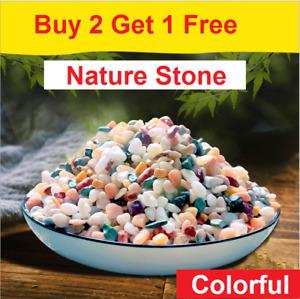 Coloured Plant Pot Garden Gravel Fish Tank Gravels Stones Pebbles for Decoration
