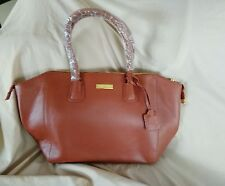 Joy & Iman Leather Bestfriend Organizer Handbag. Brown. Large. AMAZING!