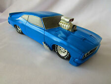 Ford Falcon XC Coupe GT Drag Rodz Cavalier Supercharged Blue Model Car *Damaged