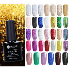Multi-colors Sparkle UV Gel Nail Polish Soak Off Varnish  Party UR SUGAR