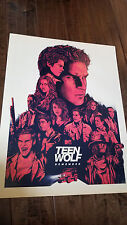 "2017 SDCC COMIC CON EXCLUSIVE FOX MTV POSTER TEEN WOLF REMEMBER 18"" X 24"""