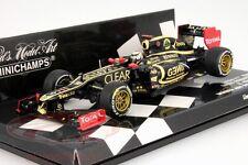 1 43 Minichamps Lotus Renault E20 Winner GP Abu Dhabi Räikkönen 2012