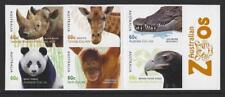 AUSTRALIA 2012 AUSTRALIAN ZOOS SET OF 6 SELF ADHESIVE UNMOUNTED MINT, MNH