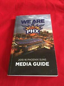 2015-2016 NBA Phoenix Suns media guide / Bledsoe / Booker debut / Chandler