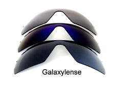 Galaxy Replacement Lenses for Oakley Radar Path Black&Blue&Gray Polarized 3Pair