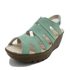 Skechers Womens Parallel Stylin Peep Toe Slingback Sandals Size 7.5M Mint New