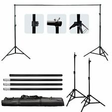 10Ft Backgrounds Support Stand Photo Backdrop Crossbar Kit Photography Studio