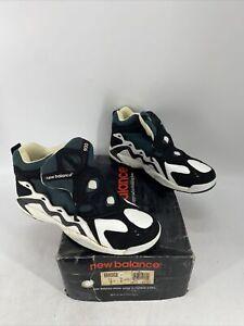 Vintage RARE New Balance Men's 900 Shoe Sneaker Black Forest Green White Size 13