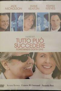 TUTTO PUO' SUCCEDERE (DVD) jack nicholson,diane keaton,keanu reeves nuovo sigill