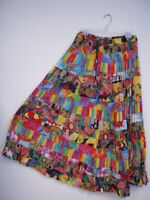 Le Mieux NWT Colorful 16 Tier Crinkle Skirt, Missy, Petite, Plus