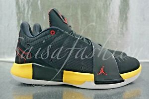 Nike Jordan CP3 XI 'Taxi' Chris Paul Shoes Black/Yellow AA1272-002 Mens Sz 10.5