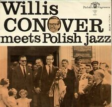 "WILLIS CONOVER MEETS POLISH JAZZ - Polish 10"" LP"