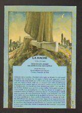 ASTROLOGIE des ARMES / HOROSCOPE ARABE / LA HACHE ... par René BOTTI