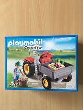 Playmobil - Country - 70495 - Ladetraktor mit Bauer und Gemüse - NEU OVP