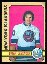 1972 73 OPC O PEE CHEE 270 BRIAN LAVENDER EX+ N Y NEW YORK ISLANDERS HOCKEY CARD