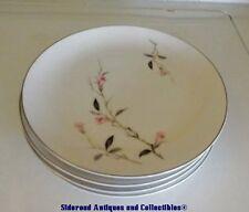 "Set 4 Japan Cherry Blossom 7-1/2"" Salad Plates 1067 Tableware Floral China EUC"