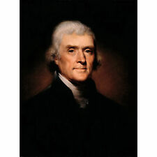 Rembrandt Peale Thomas Jefferson Extra Large Art Poster