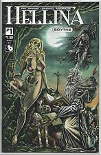 Hellina #1 Scythe Sacrilege Nude Risque Variant Cover Boundless Comics