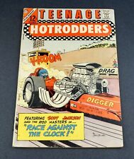 1966 TEENAGE HOTRODDERS COMICS #21 CHARLTON COMIC # CMC360