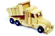 Massivholz LKW Sandlaster Lastwagen Kipper Holzspielzeug 30cm