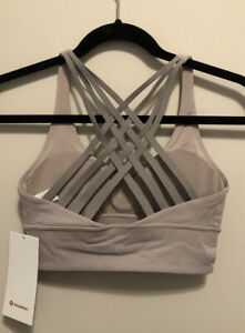 NWT Lululemon Size 6 Free To Be Moved Bra PWMV/DKCH