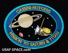CASSINI HUYGENS MISSION TO SATURN & TITAN NASA JPL SPACE Mission PATCH