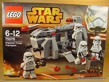LEGO STAR WARS Imperial Troop Transport Battle Pack Stormtroopers Set 75078