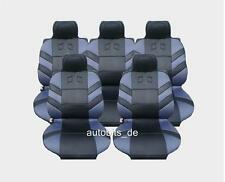 5x Sitze Autositzauflage Auflage Autositz Schutz Grau Sitzschutz für
